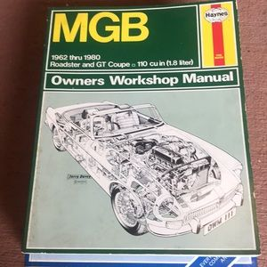 MGB 1962-80 Owners Workshop Manual by Haynes